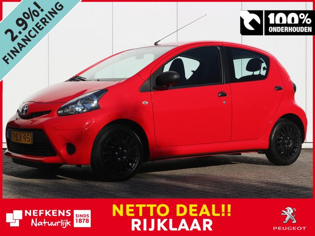 Toyota Aygo 1.0 68 pk now netto deal & rijklaar