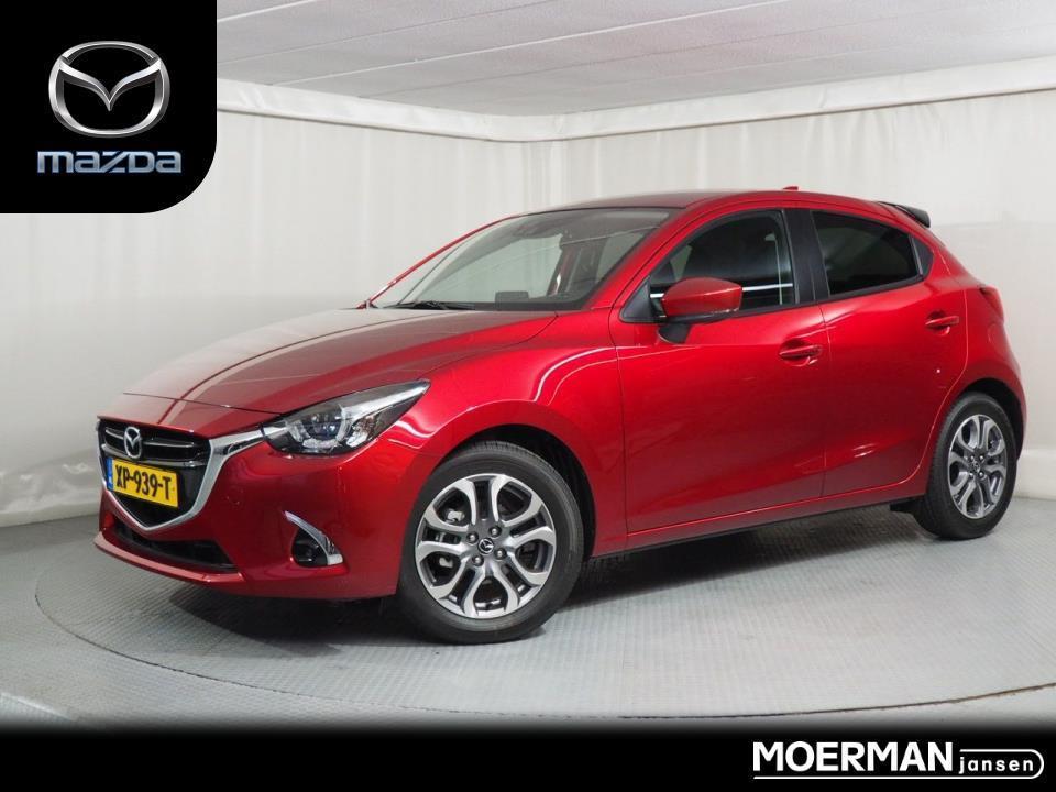Mazda 2 1.5 skyactiv-g gt-m demo / automaat / apple car play / volledig leder / div. accessoires