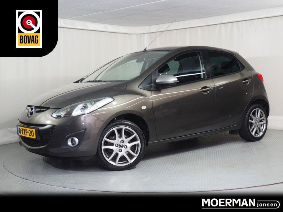 Mazda 2 1.3 hp silver edition / navigatie / parkeersensoren / 1e eig / dealeronderhouden