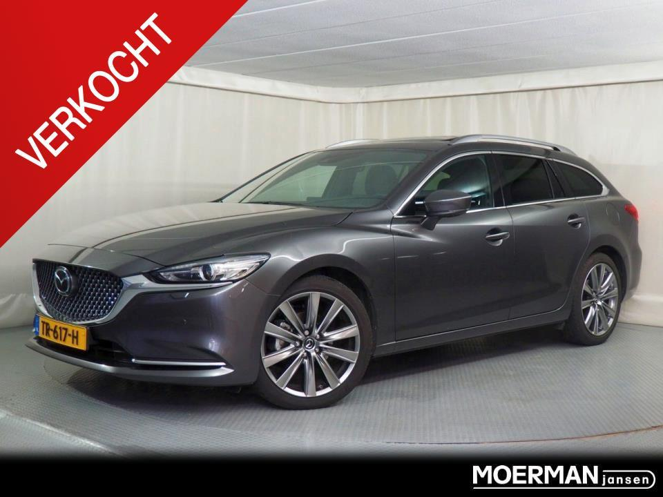 Mazda 6 Sportbreak 2.0 signature automaat / dealerdemo / full-option verkocht