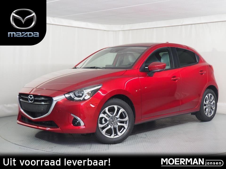 Mazda 2 Skylease gt / leather pack / navigatie / uit voorraad leverbaar