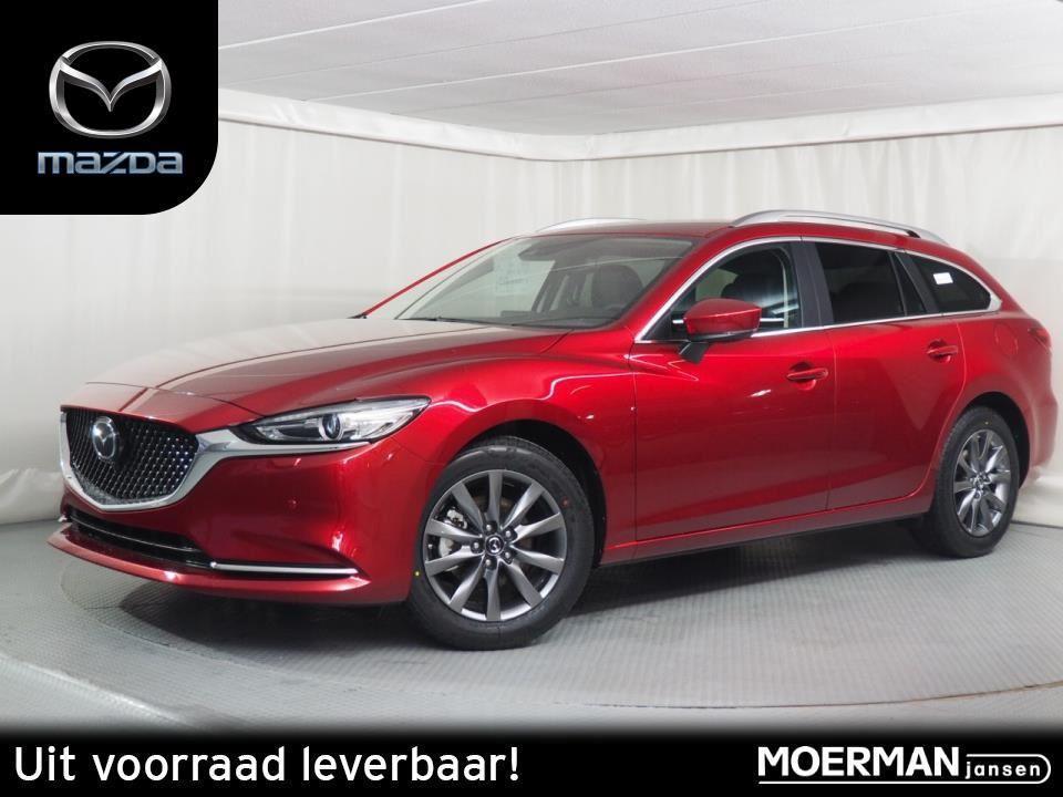 Mazda 6 Sportbreak business comfort / 165pk / 360-view / navigatie / uit voorraad leverbaar