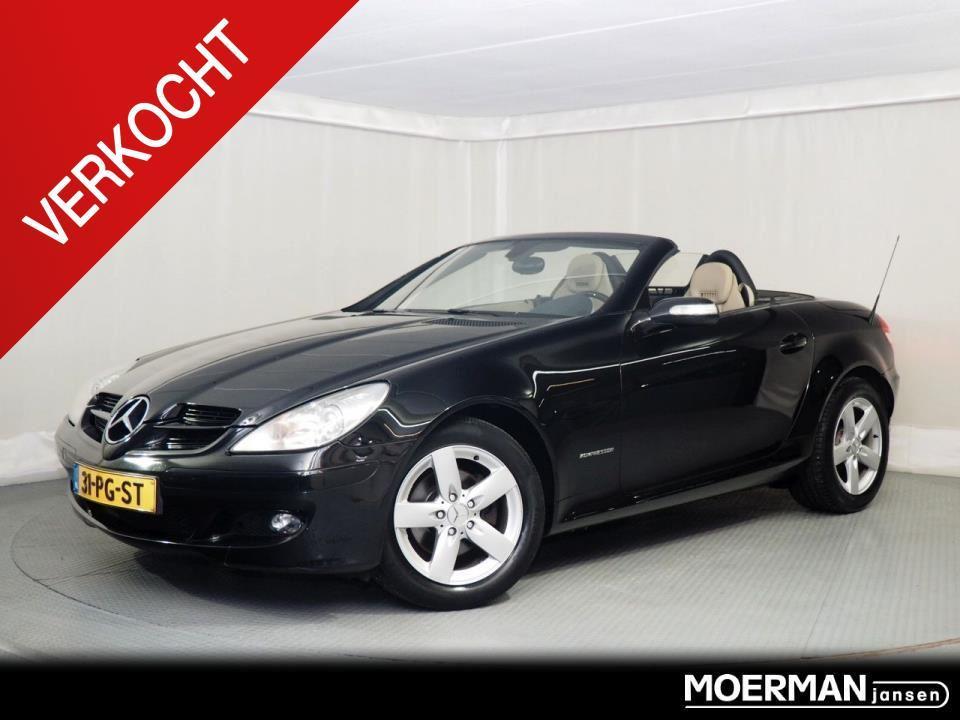 Mercedes-benz Slk-klasse 200 k. / leder / navigatie / nl auto / automaat / verkocht
