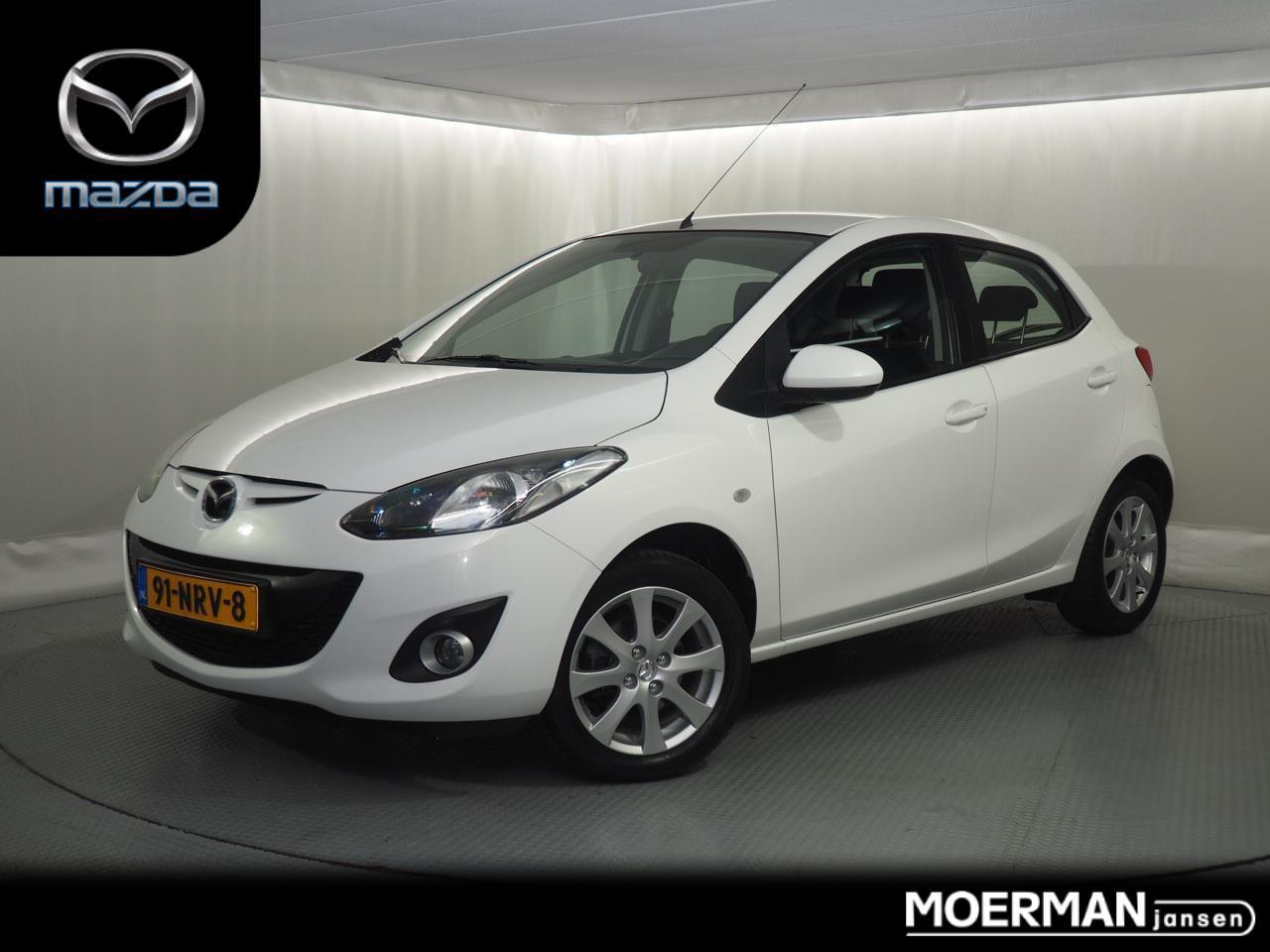 Mazda 2 Ts+ face lift 5-drs / airco / dealer onderhouden / afneembare trekhaak