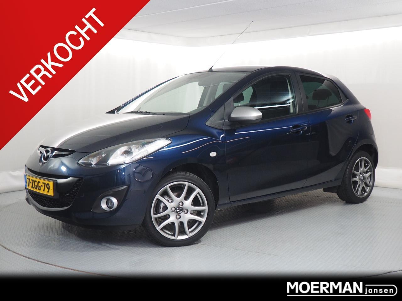Mazda 2 1.3 silver edition verkocht