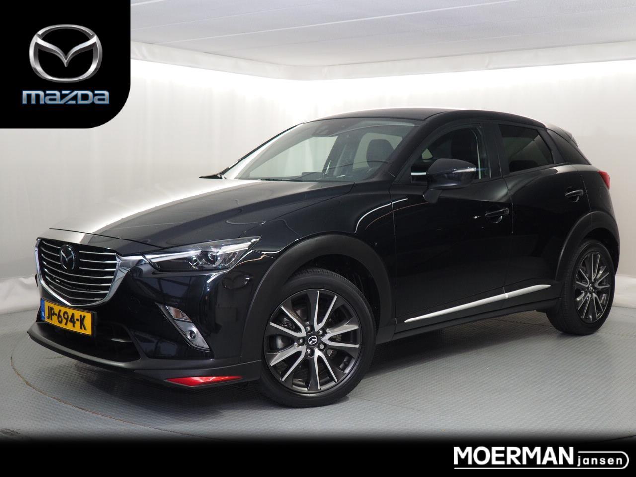 Mazda Cx-3 2.0 gt-m / radar cruise control / head-up display / parkeersensoren + camera / 42.000km / 1e eigenaar