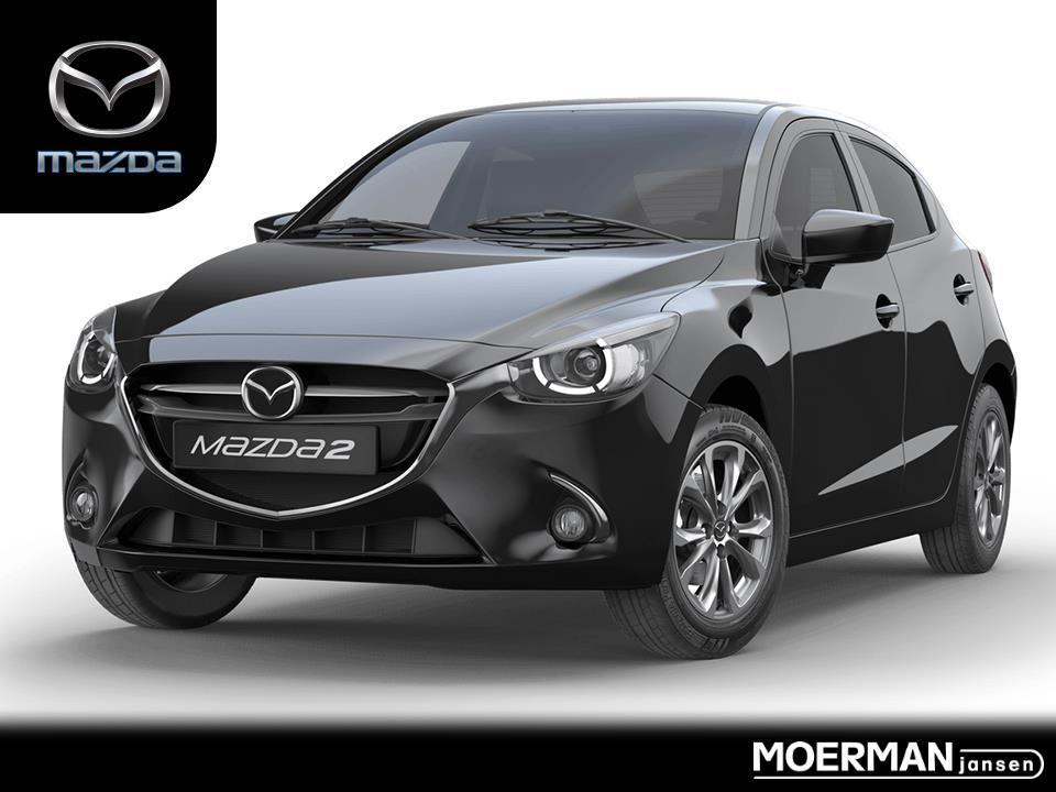 Mazda 2 Gt-m / automaat / white leather pack / head-up display / keyless entry / uit voorraad leverbaar