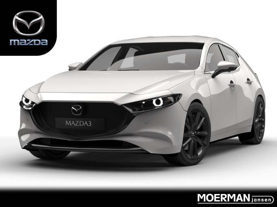 Mazda 3 Comfort / bose / leder / 18 inch velgen / uit voorraad leverbaar