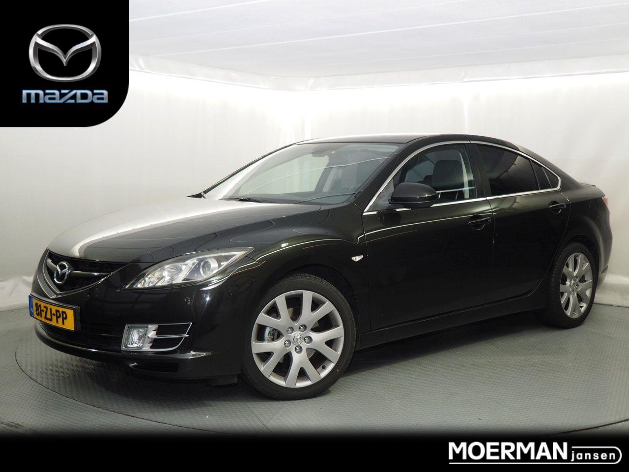 Mazda 6 2.0 automaat / sedan / dealer onderhouden / trekhaak / nl auto / climate-& cruise control
