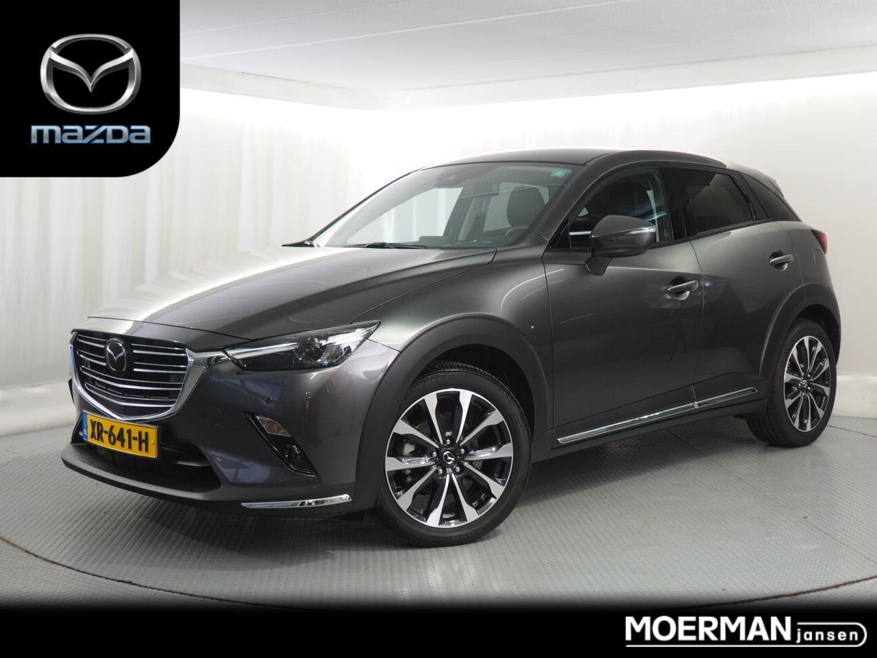 Mazda Cx-3 2.0 gt-m demo / duurste uitvoering / apple car play / radar cruise control / aanbieding!