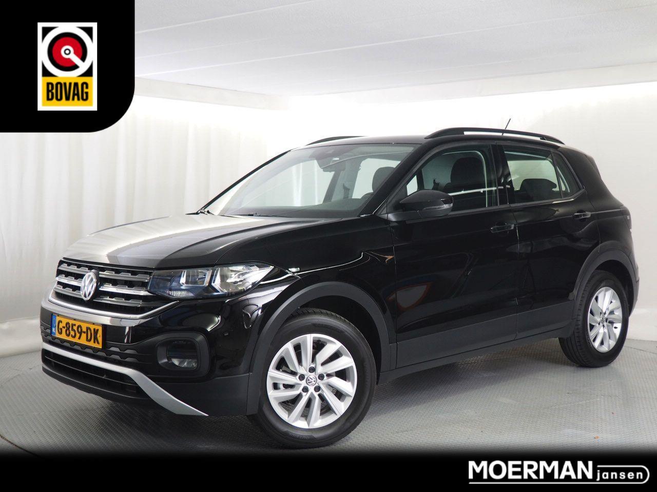 Volkswagen T-cross 1.0 tsi life / nieuw model / 2019 / slechts 1400 km / zwart  / airco /