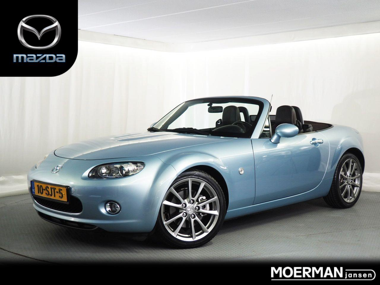 Mazda Mx-5 1.8 sofftop / limited edition met brown leather /  17 inch velgen /