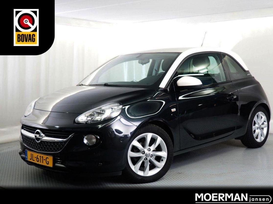 Opel Adam 1.0 turbo unlimited 1e eigenaar / half leder / geïntegreerde fietsdrager / two-tone lak / 51.000km / dealer onderhouden