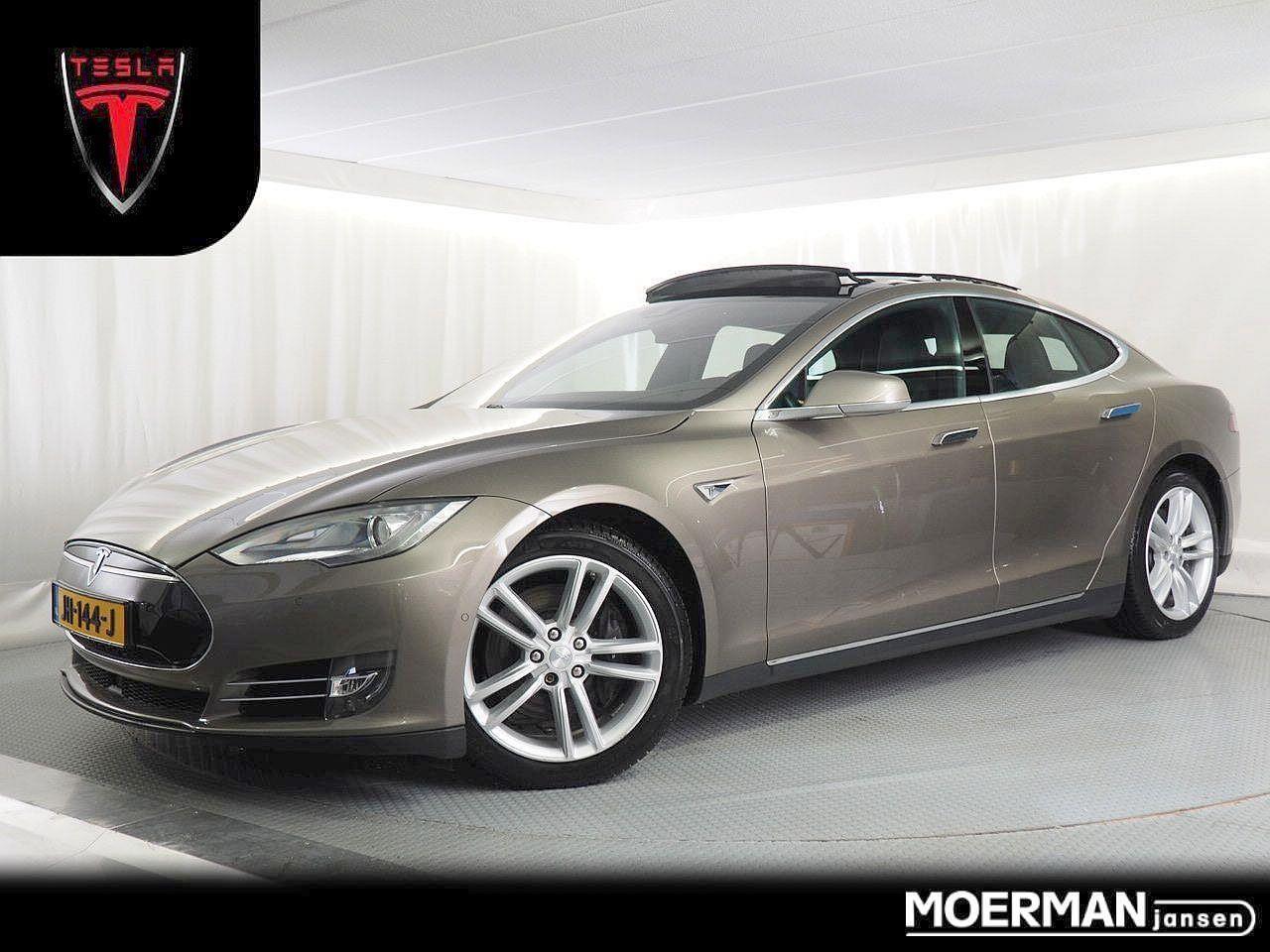 Tesla Model s 70d luxus / 1e eigenaar / 41.000km / panorama dak / lederen interieur / autopilot / excl. btw