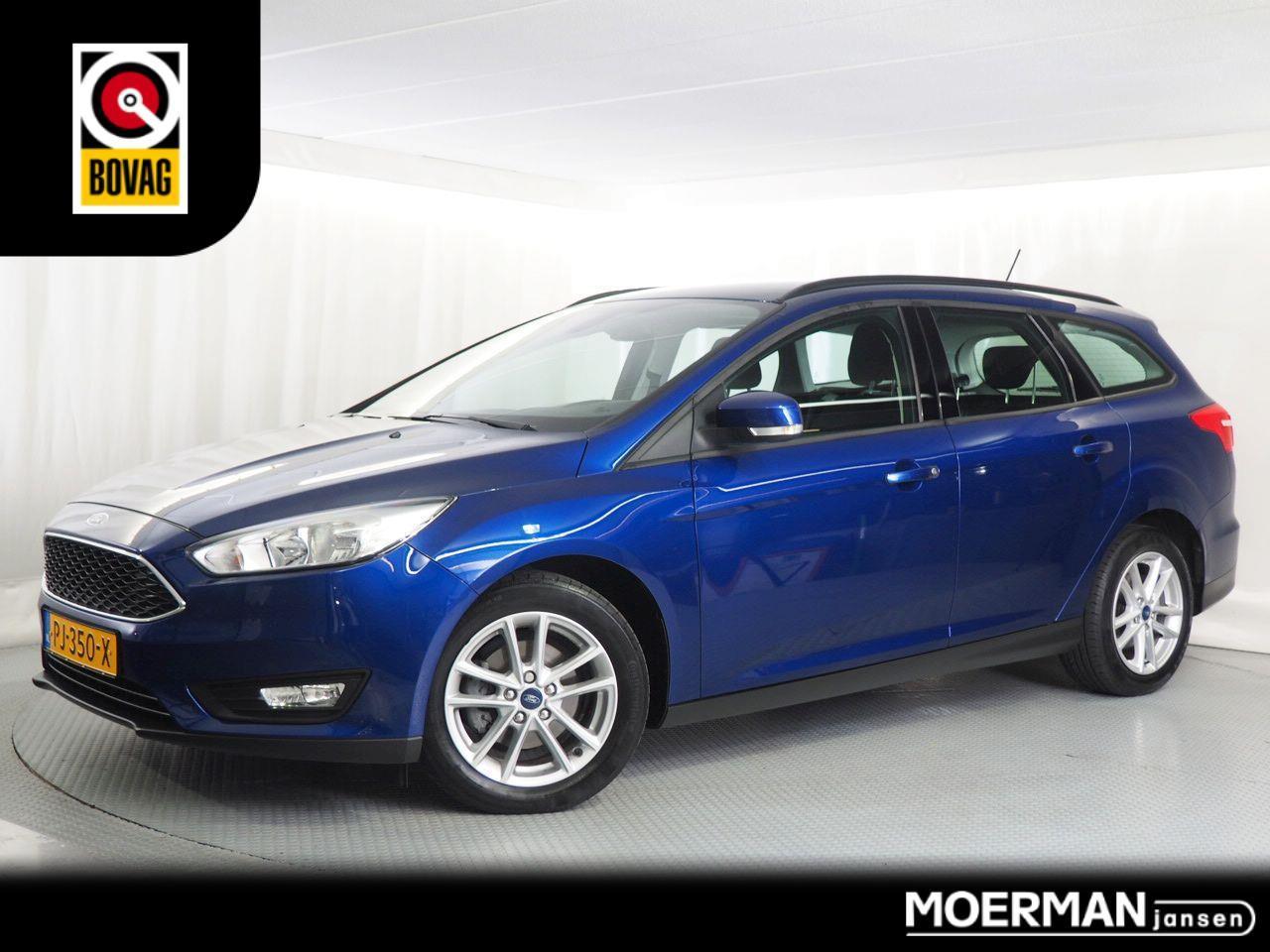 Ford Focus Wagon 125 pk edition / station / navigatie / 1e eigenaar / trekhaak /