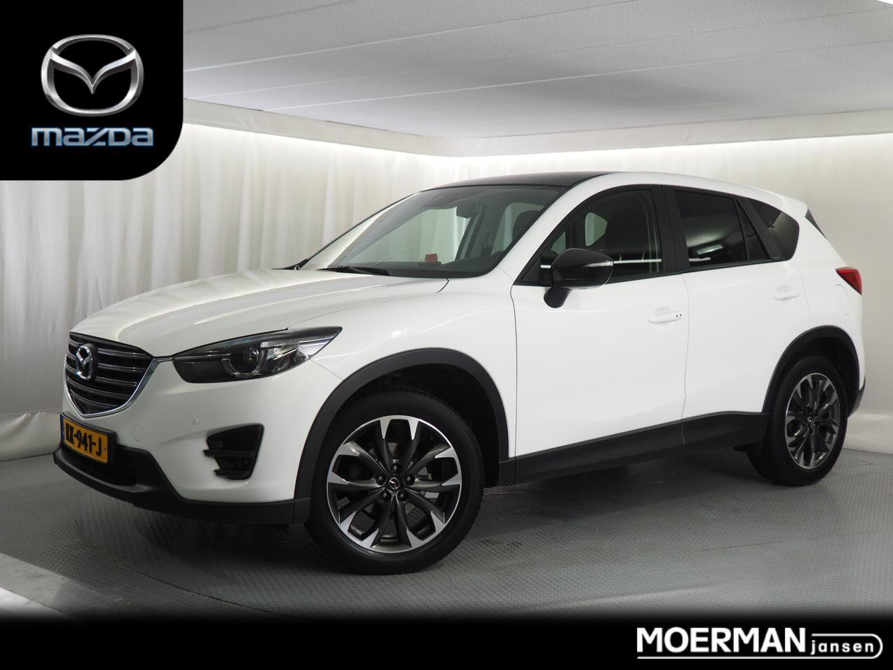 Mazda Cx-5 2.0 gt / 19 inch velgen / lederen interieur / trekhaak / navigatie / 44.000km / camera