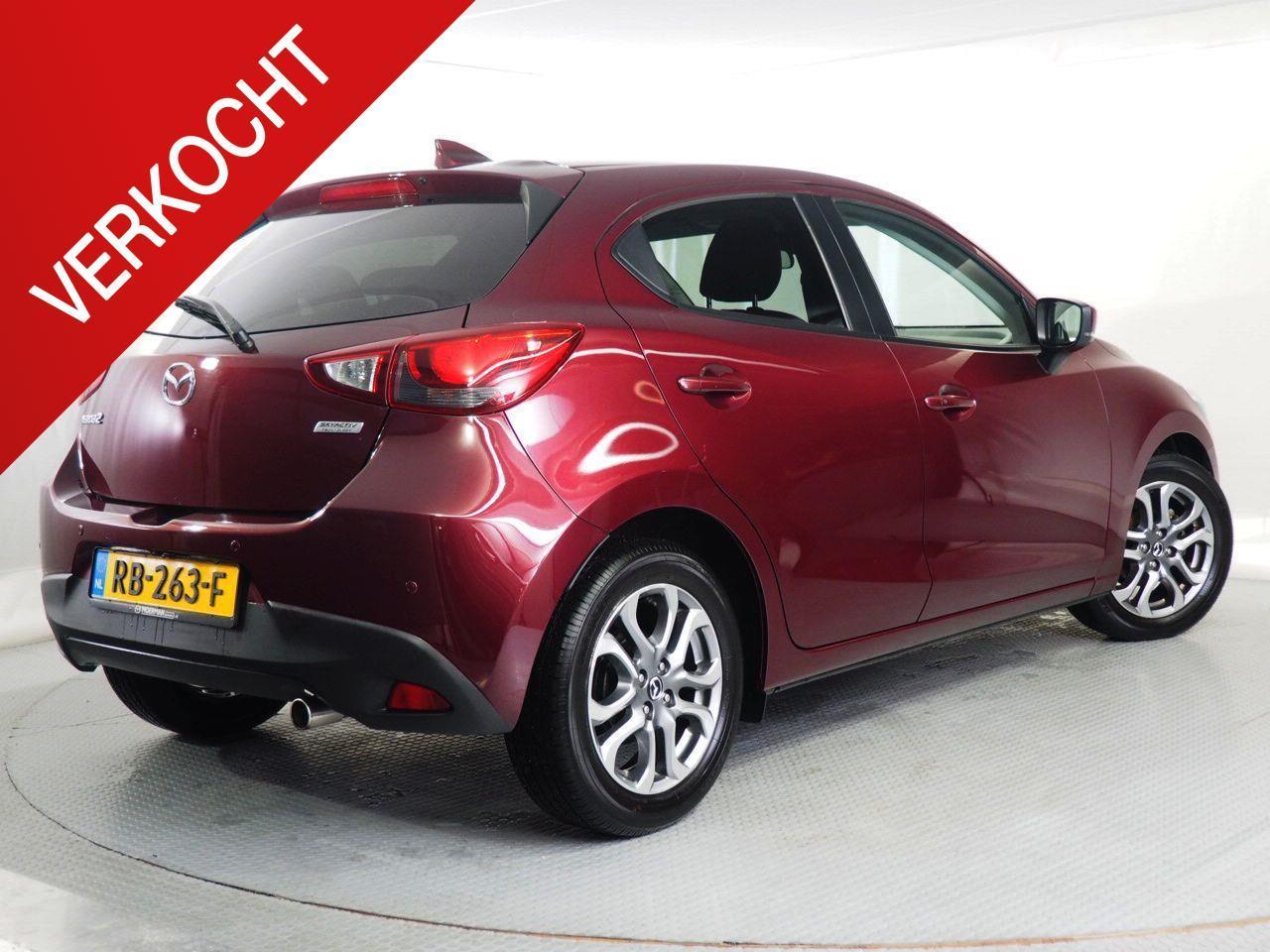 Mazda 2 1.5 gt-luxury / verkocht