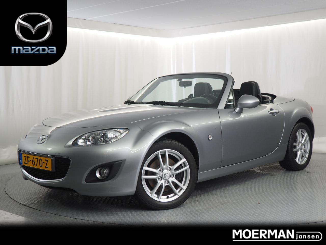 Mazda Mx-5 Roadster coupé 1.8 executive athletic / recaro interieur / 57.000km / electr. hardtop / bose installatie / voll. historie