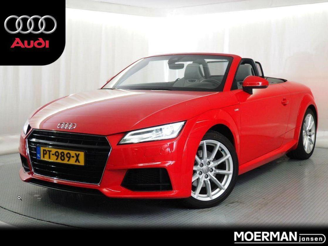 Audi Tt Roadster 1.8 tfsi pro line s / electrische softtop / dealer onderhouden / 43.000km / s-line / automaat /