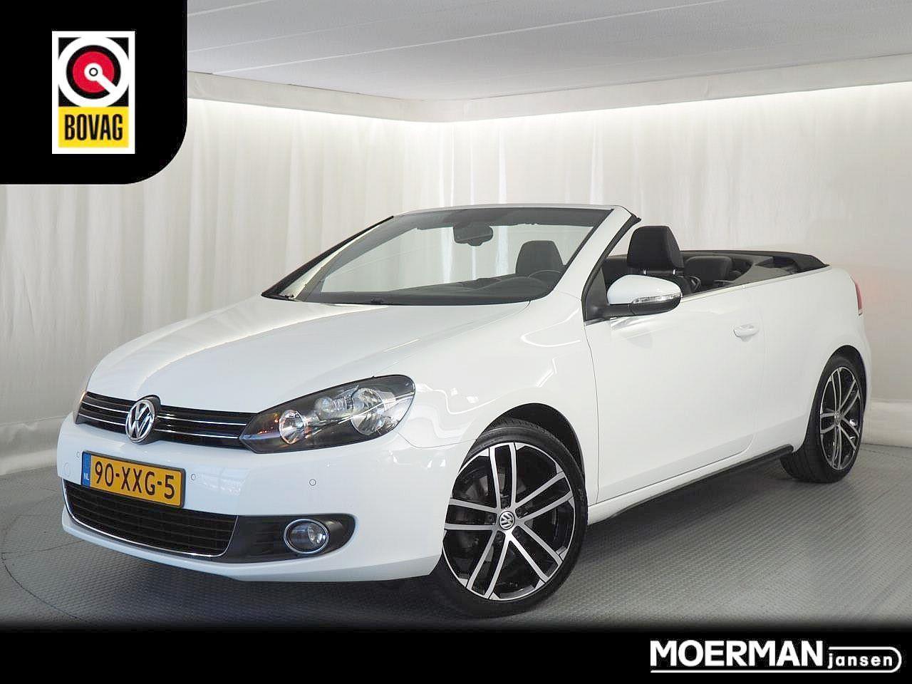 Volkswagen Golf Cabriolet 1.2 tsi bluemotion / alcantara / navigatie / volledig onderhouden
