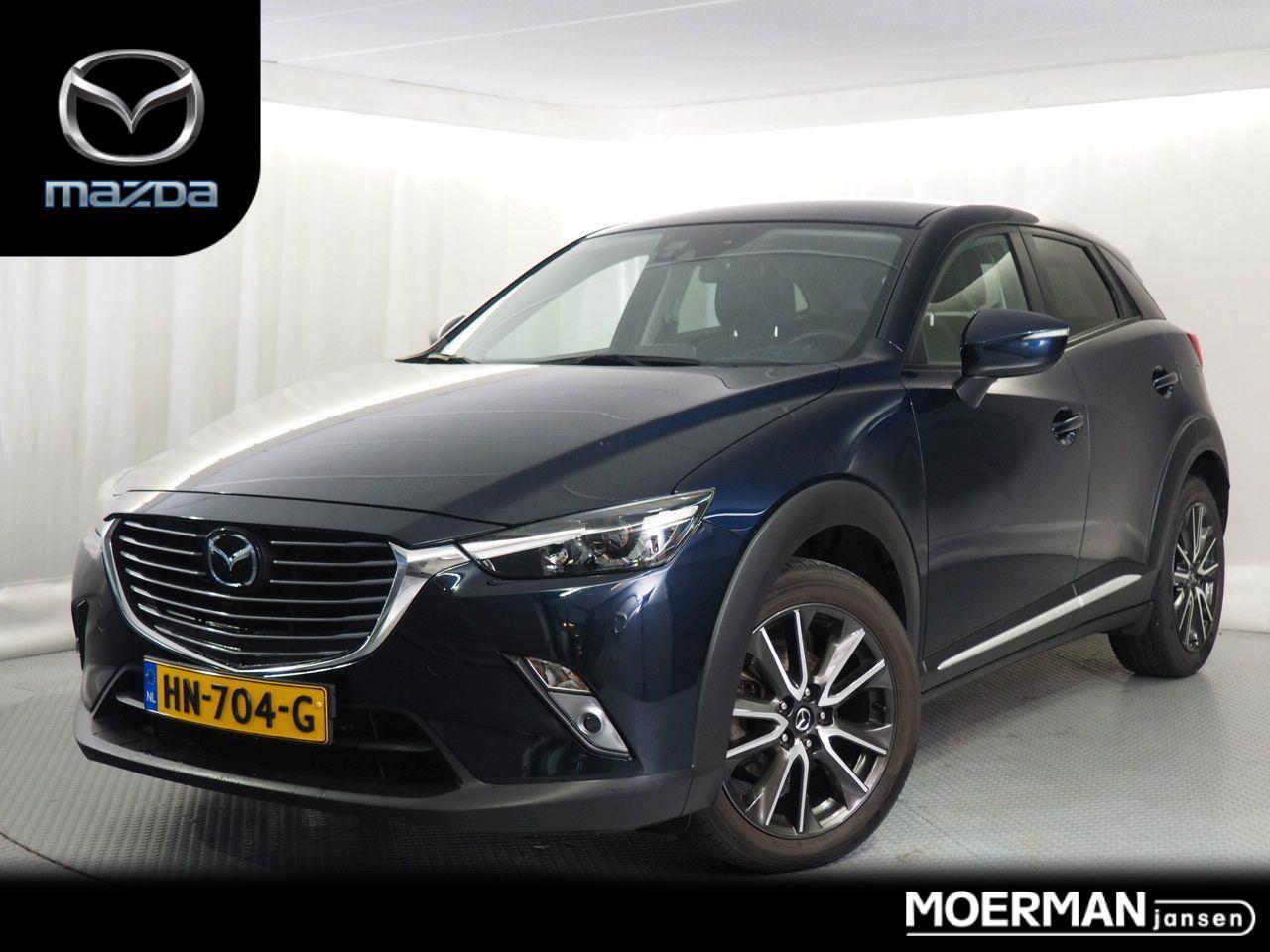 Mazda Cx-3 2.0 skyactiv-g 120 gt-m / 64.000km / head-up display / bose installatie / radar cruise ctrl / dealer onderhouden