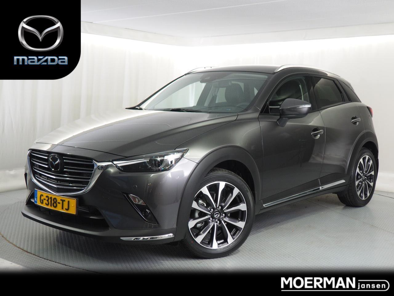 Mazda Cx-3 2.0 gt-m automaat / dealer demo / radar cruise control / camera / veel accessoires