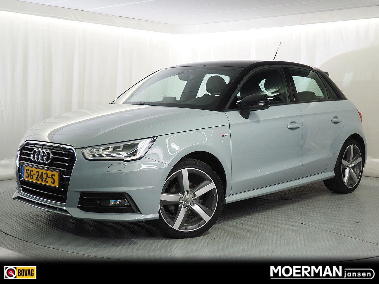 Audi A1 Sportback 1.0 tfsi advance sport / s-line exterieur / half leder / navigatie / automaat /