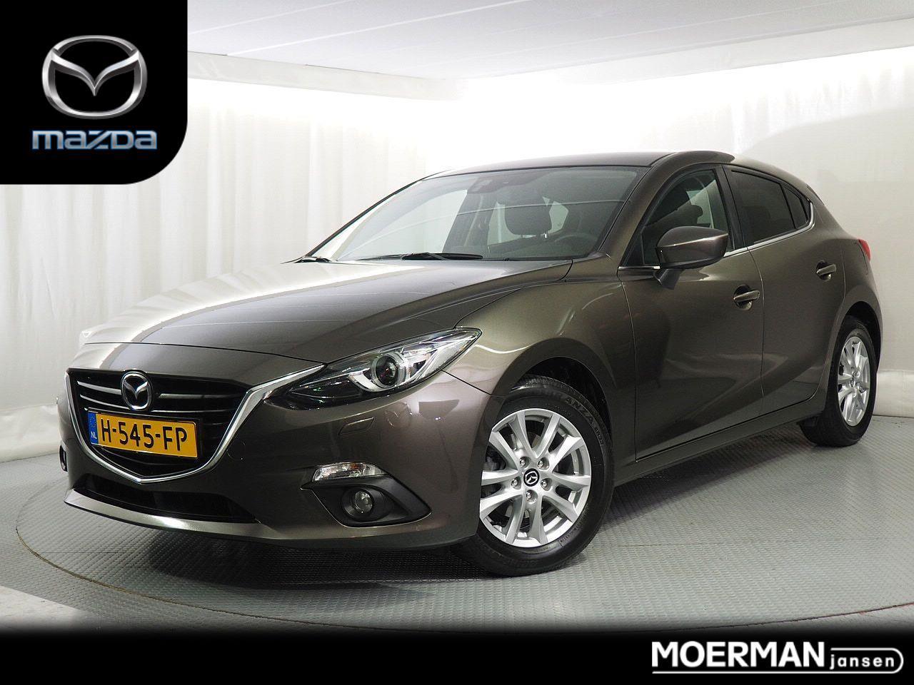 Mazda 3 1.5 ts+ / 96.000km / dealeronderhouden / 5-drs / navigatie / climate&cruise control  /