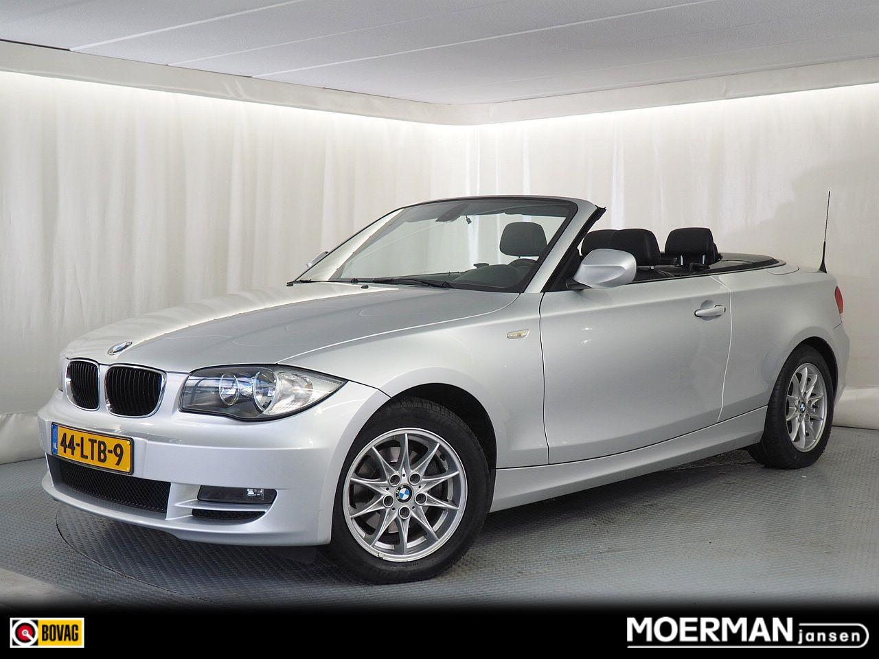 Bmw 1 serie Cabrio 118i high executive äutomaat / lederen interieur / windblokker / voll.historie
