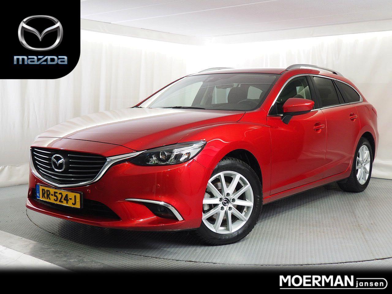 Mazda 6 Sportbreak 2.0 sportbreak / navigatie / trekhaak / dealer onderhouden / climate&cruise control