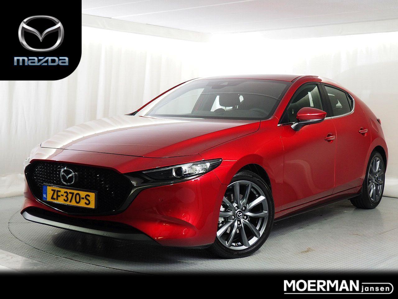 Mazda 3 2.0 comfort / hatchback / 11.000km / navigatie / trekhaak / bose installatie / nieuw model