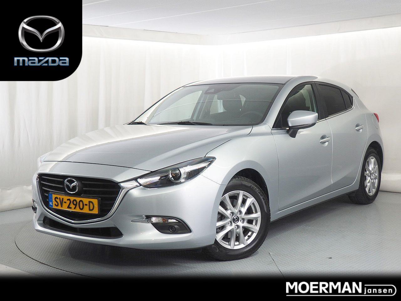 Mazda 3 2.0 skylease+ / 5 drs / navigatie / camera / head-up display / 32.000km / 1e eigenaar