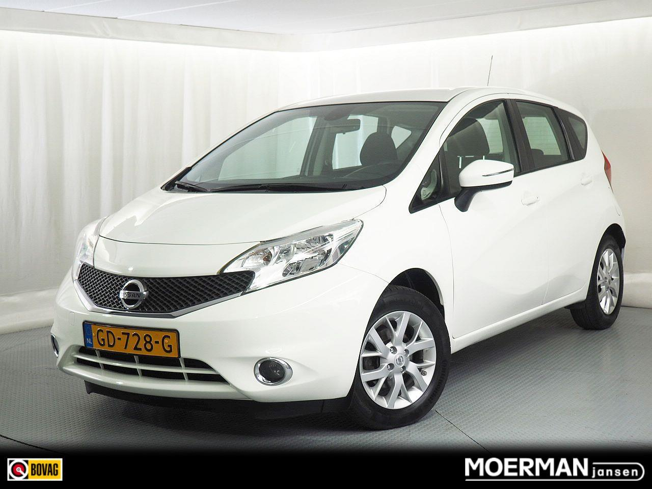 Nissan Note 1.2 connect edition / hoge zit / 60.000km / navigatie / climate control