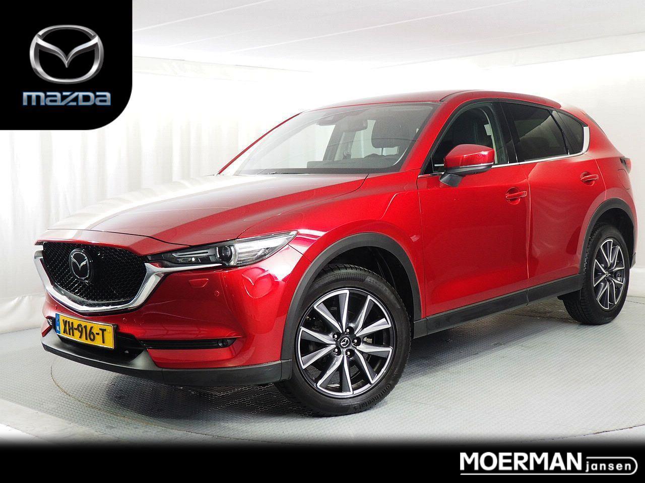 Mazda Cx-5 2.0 skyactiv-g 165 gt-m / duurste uitvoering / head-up beamer / 360 camera / radar cruise control