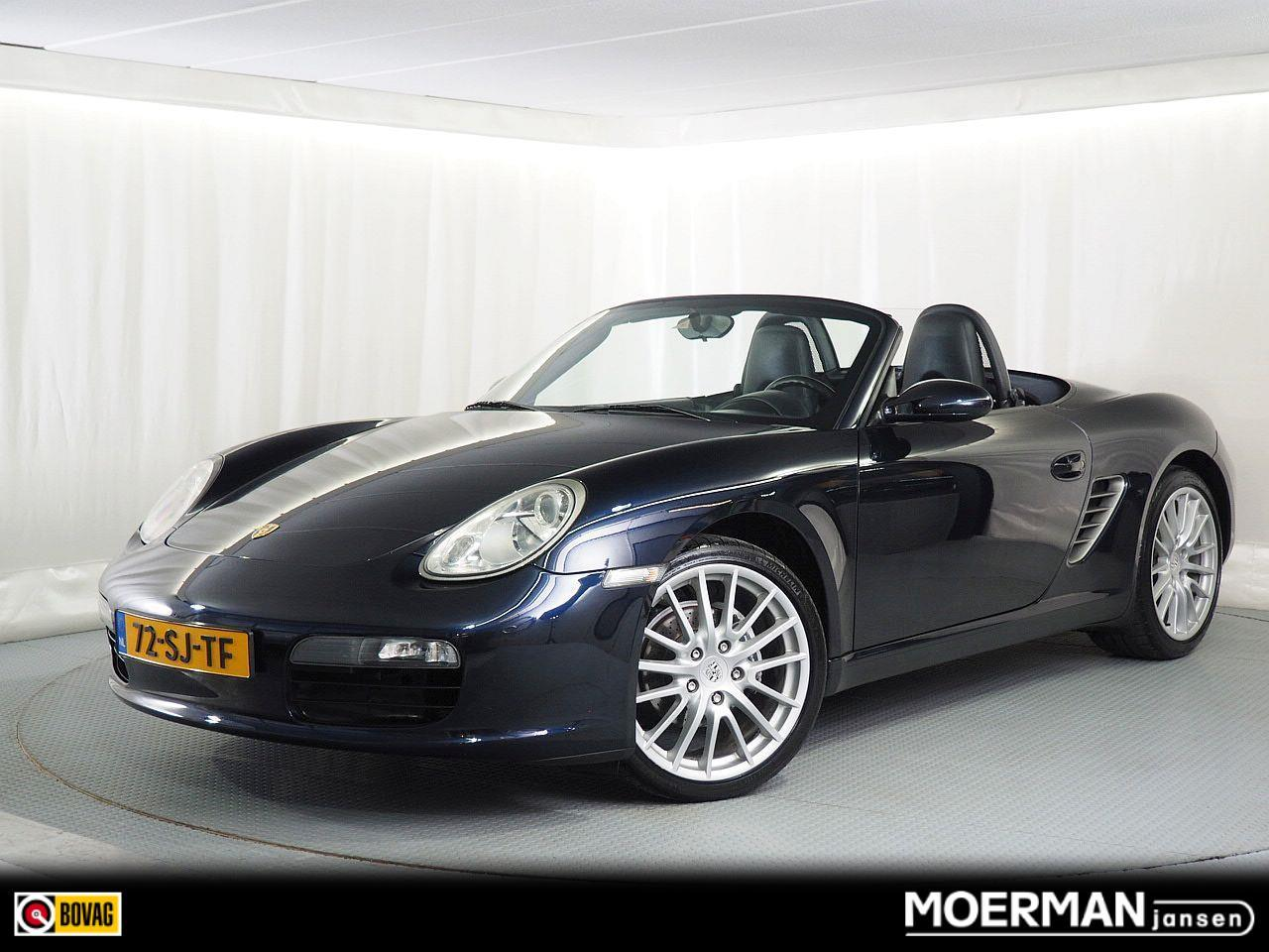 Porsche Boxster 2.7 tiptronic / nl auto / automaat / hardtop / leder / navigatie / historie bekend