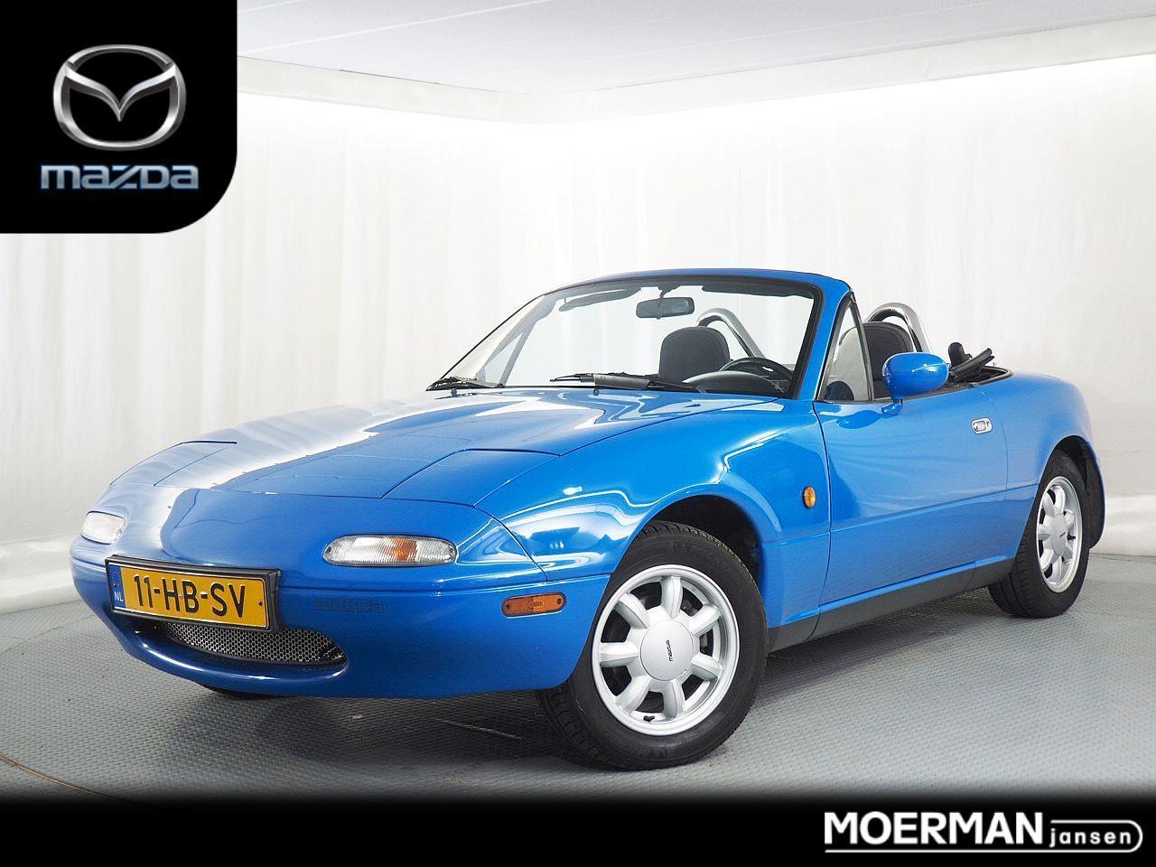 Mazda Mx-5 1.6i-16v / cabrio oldtimer / 30 jaar oud en rijdt als nieuw / grotendeels gerestaureerd