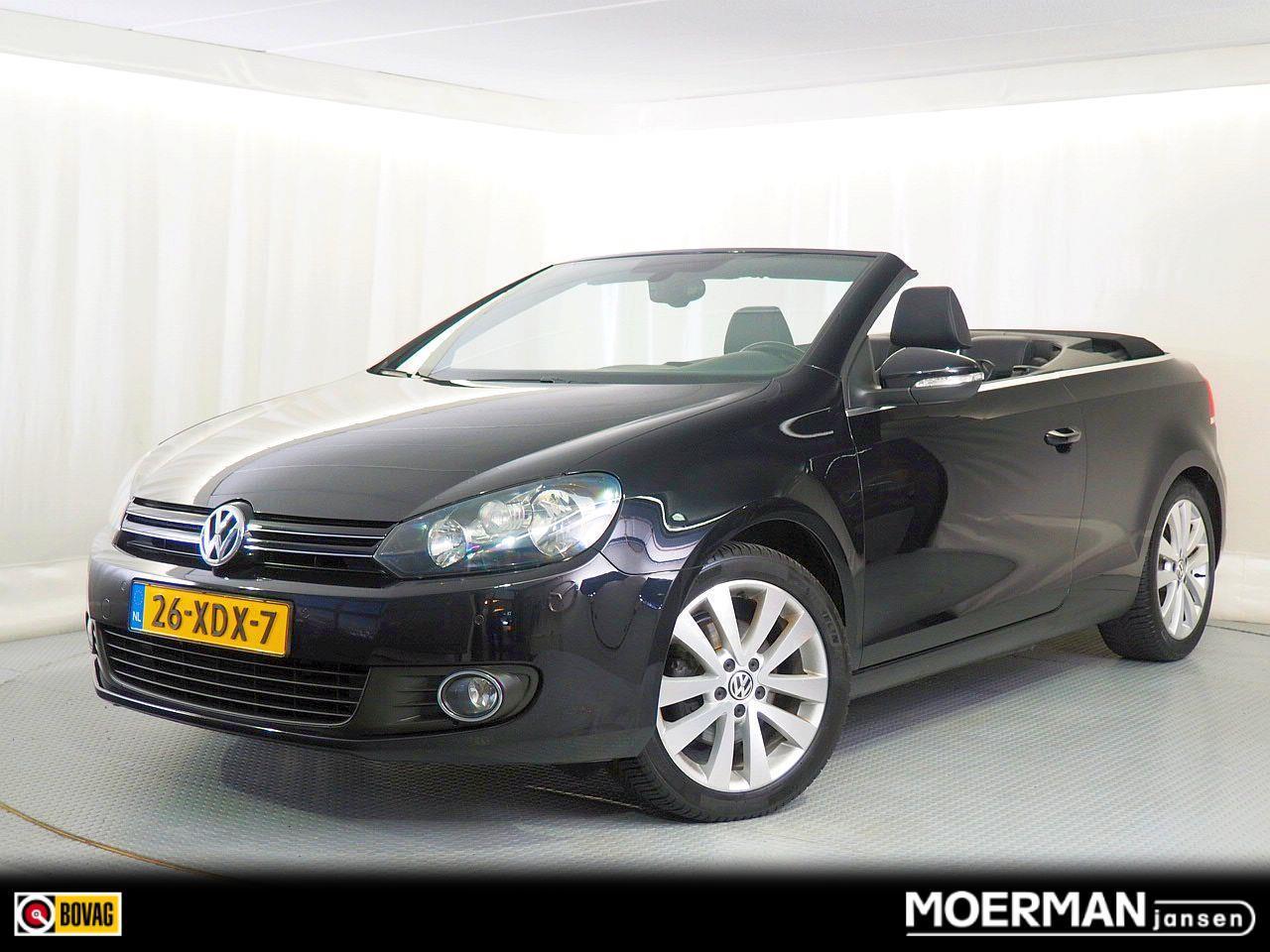 Volkswagen Golf Cabriolet 1.2 tsi / dealer onderhouden / luxe uitvoering / electr. kap / climate ctrl / park.sens.