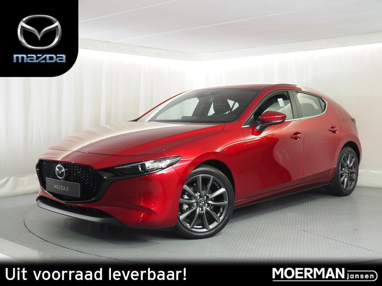 Mazda 3 2.0 skyactiv-x comfort / bose / leer / 18 inch velgen / uit voorraad leverbaar