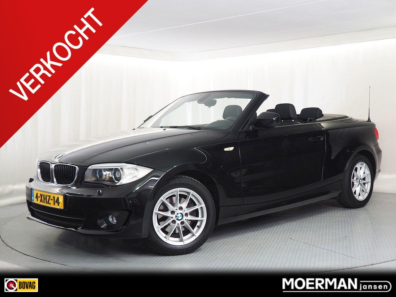Bmw 1 serie Cabrio 118i exclusive edition verkocht