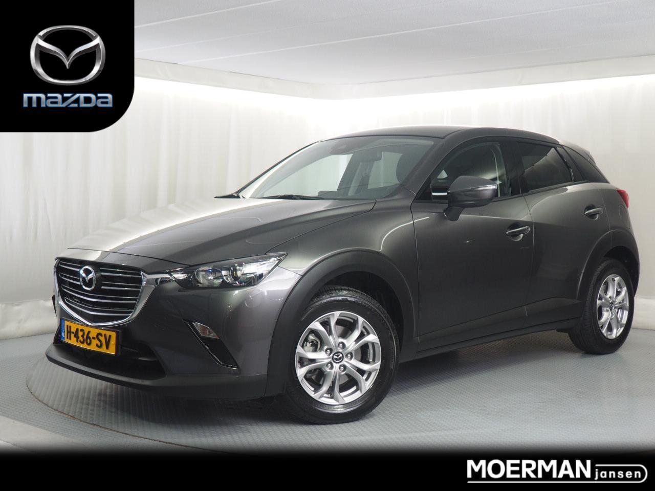 Mazda Cx-3 2.0 dynamic automaat / navigatie / parkeersensoren / 13.000km