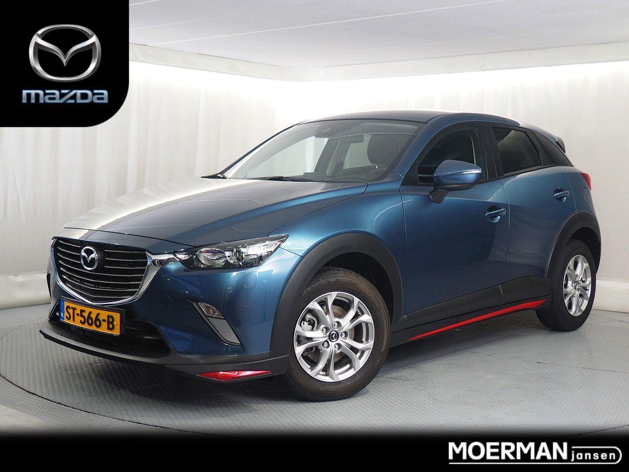 Mazda Cx-3 2.0 sports / 14.000km / automaat / navigatie / fabrieksgarantie