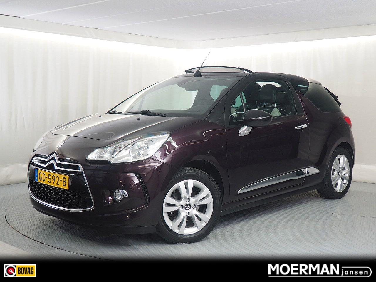 Citroën Ds3 Cabrio 1.2 puretech so chic / leder / navigatie / dealer onderhouden / 1e eigenaar