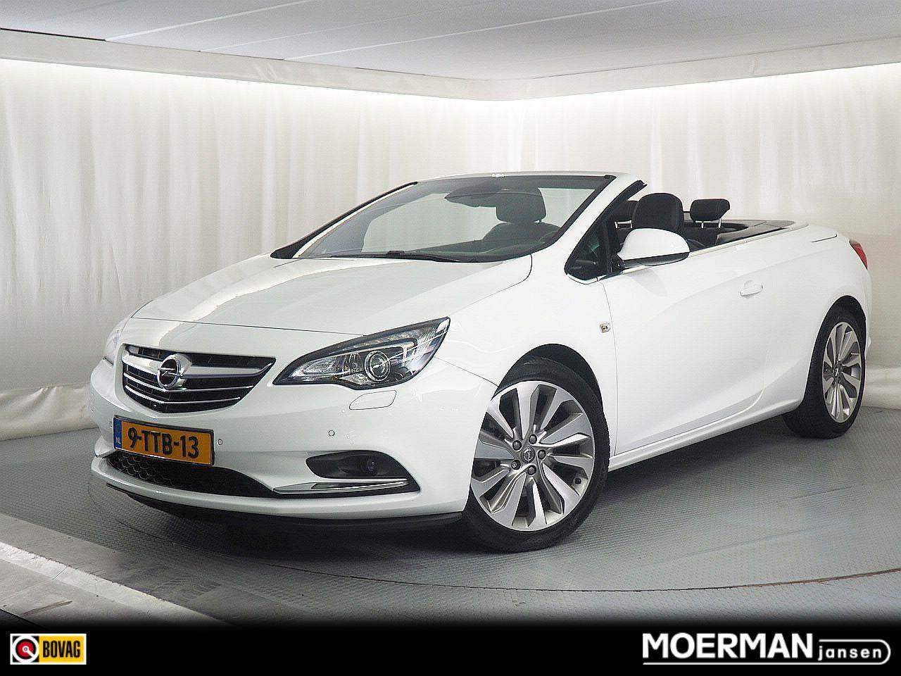 Opel Cascada 1.4 turbo cosmo / leder / comfortstoelen / navigatie / electr. cabriodak / 1e eigenaar / dealer onderhouden
