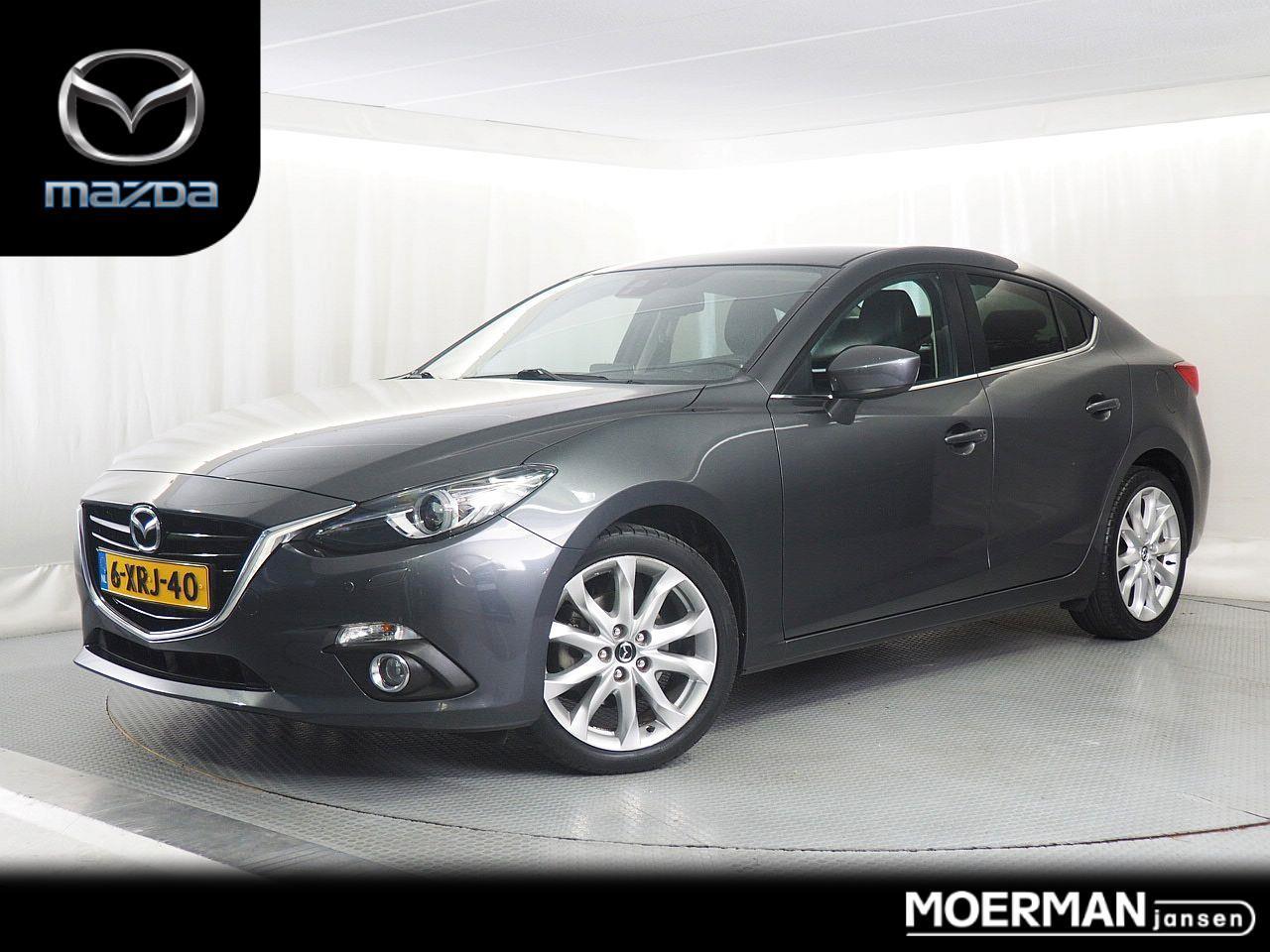 Mazda 3 2.0 gt-m / 1e eigenaar / dealer onderhouden / navigatie / head-up display / trekhaak