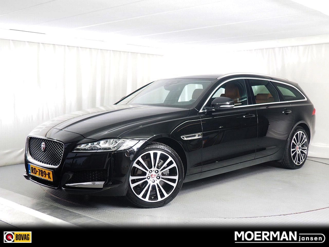 Jaguar Xf Sportbrake 2.0 portfolio luxury / station / navigatie / leder / panoramadak / camera / 250pk
