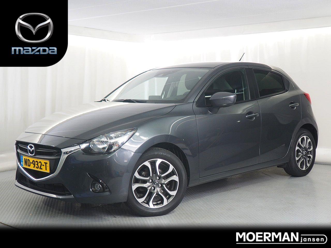 Mazda 2 1.5 skyactiv-g gt-m line / navigatie / camera / stoelverwaring / dealer onderhouden / 29.000km