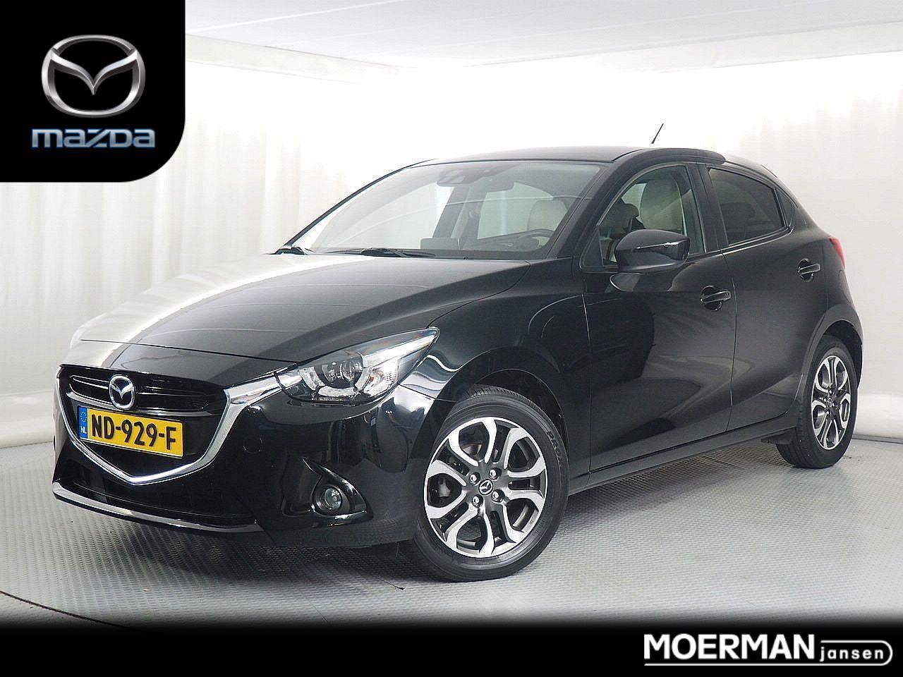 Mazda 2 1.5 luxus gt / 1e eigenaar / wit leder / head-up display / cruise control / 21.000km