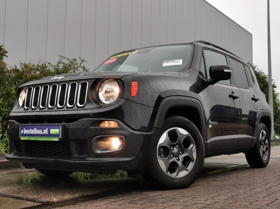 Jeep Renegade 1.6 mj grijs kenteken ac au