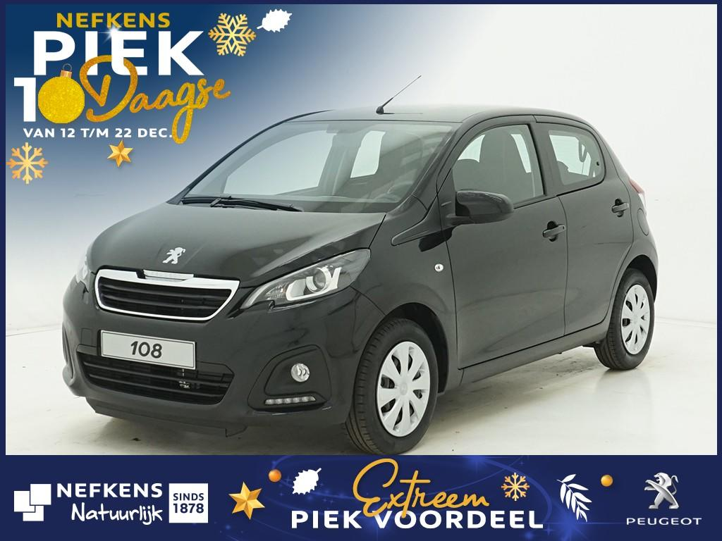 Peugeot 108 1.0 e-vti active of lease'm vanaf €209 p/m