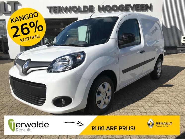 Renault Kangoo 1.5dci 90pk energy work edition nedc 26% korting!! financial lease tegen 0% rente!